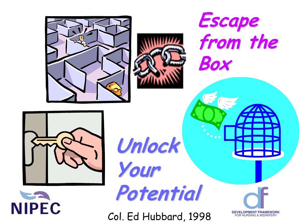UnlockYourPotential Escape from the Box Col. Ed Hubbard, 1998