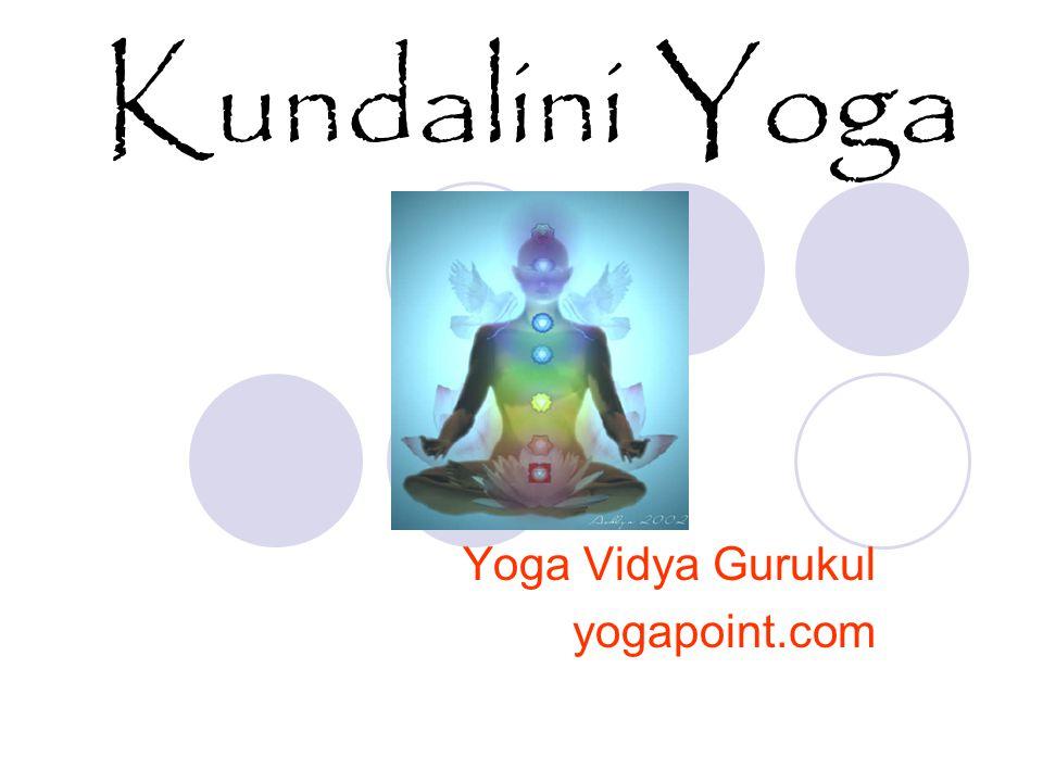 Kundalini Yoga Yoga Vidya Gurukul yogapoint.com