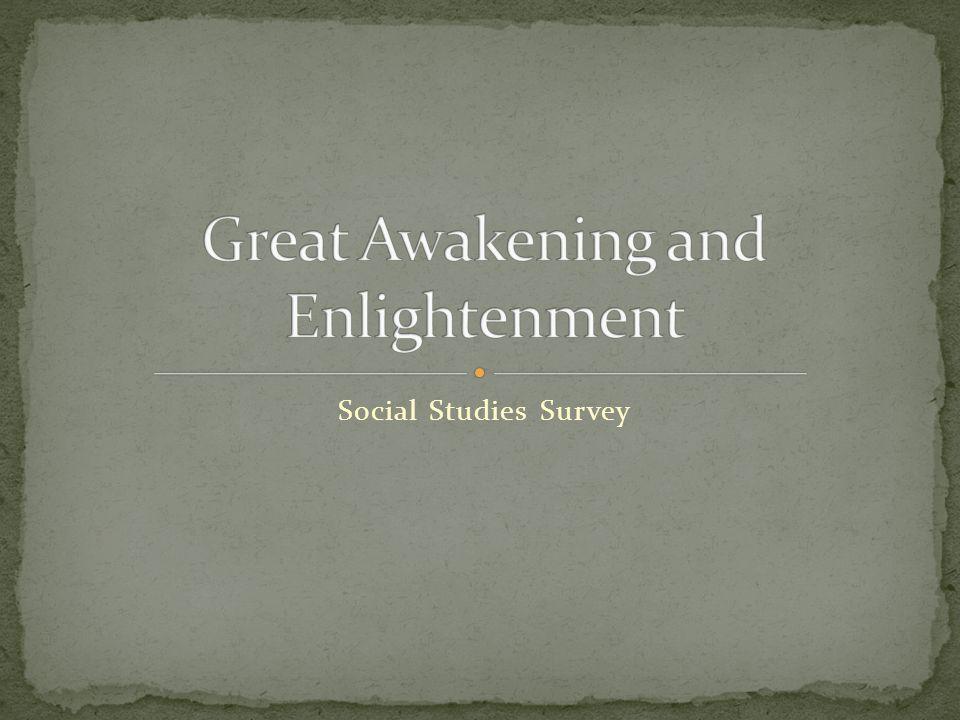 Social Studies Survey