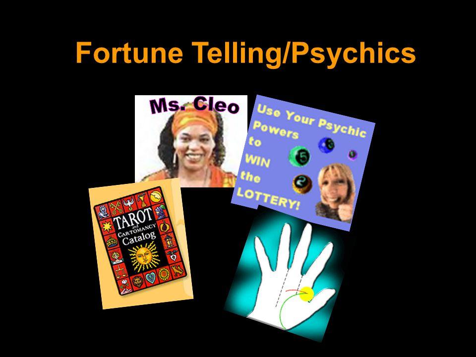 Fortune Telling/Psychics