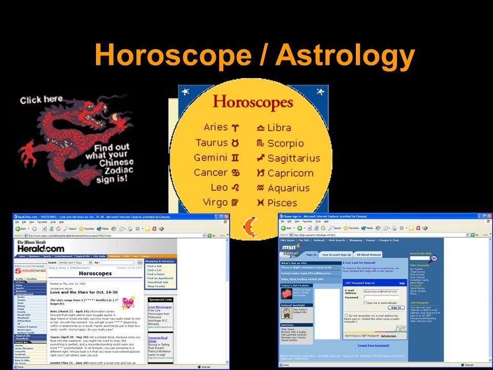 Horoscope / Astrology