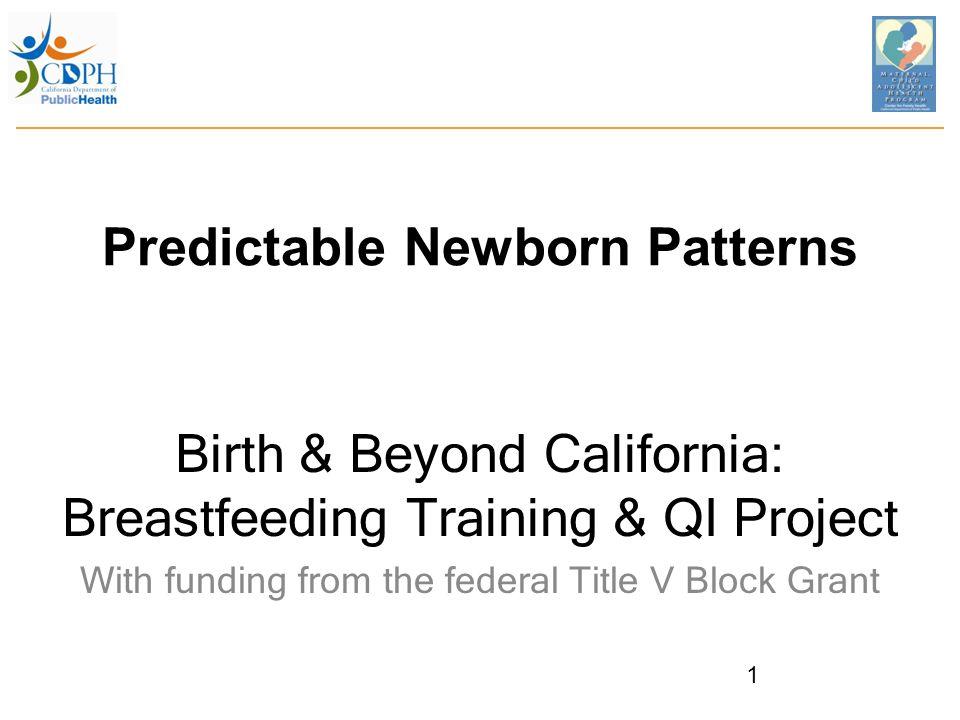 Breastfeeding: Baby's Choice 22