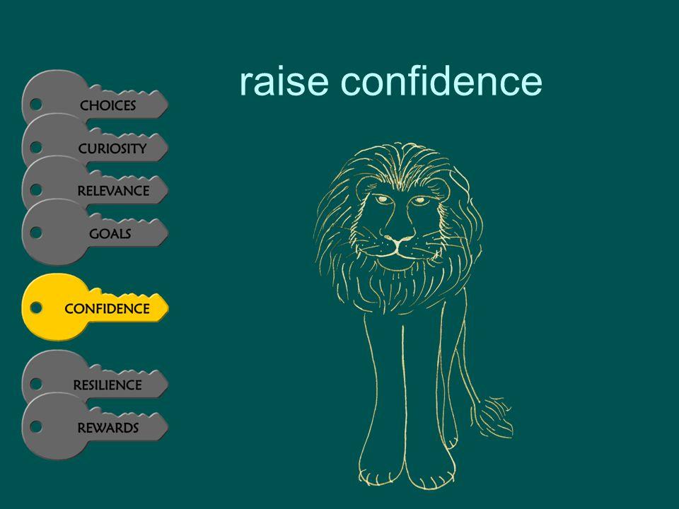 raise confidence