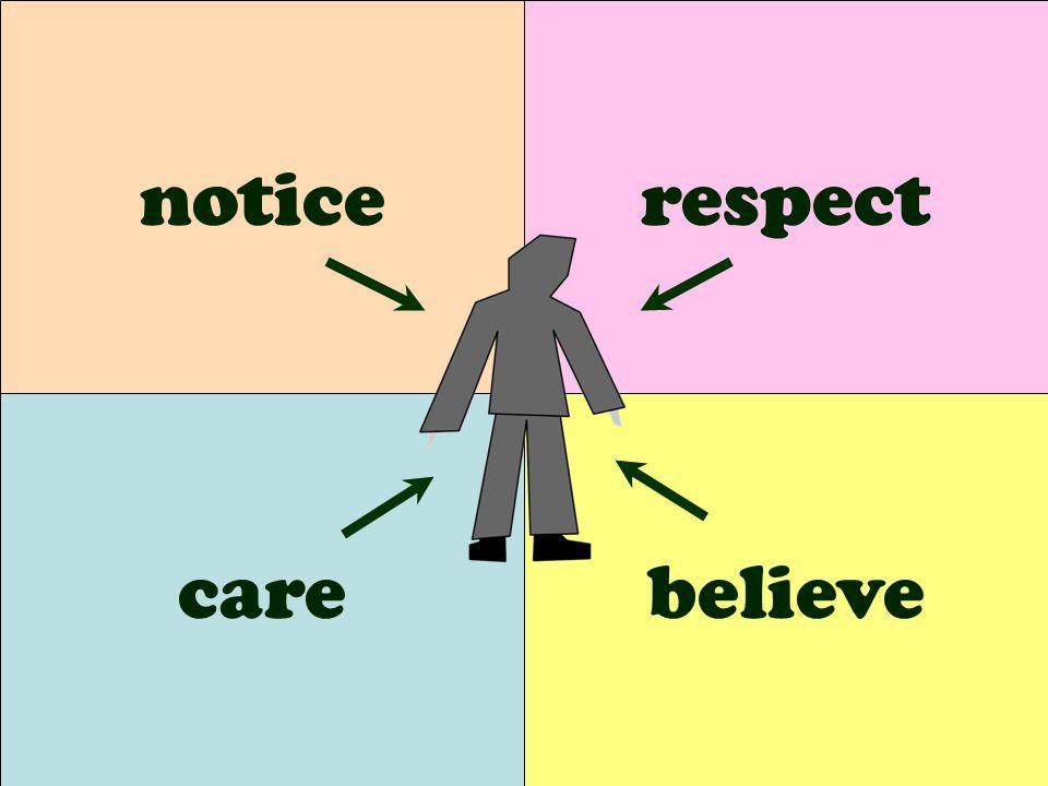 care respect believe notice