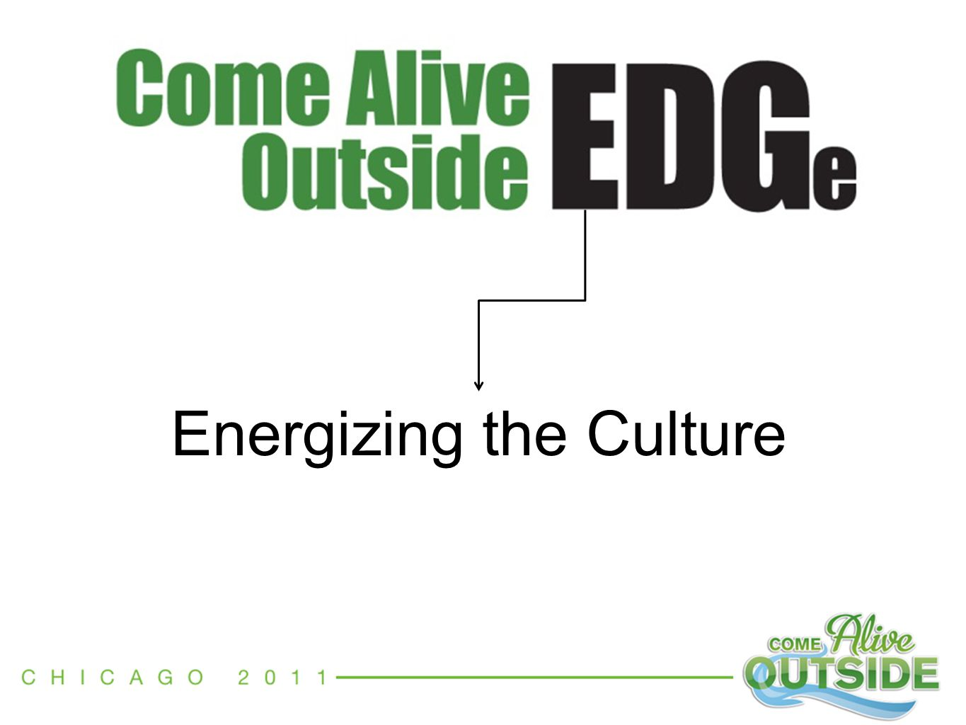 Energizing the Culture