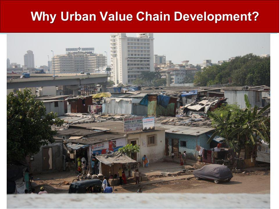 Why Urban Value Chain Development?