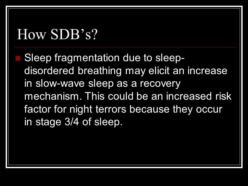 How SDB's.