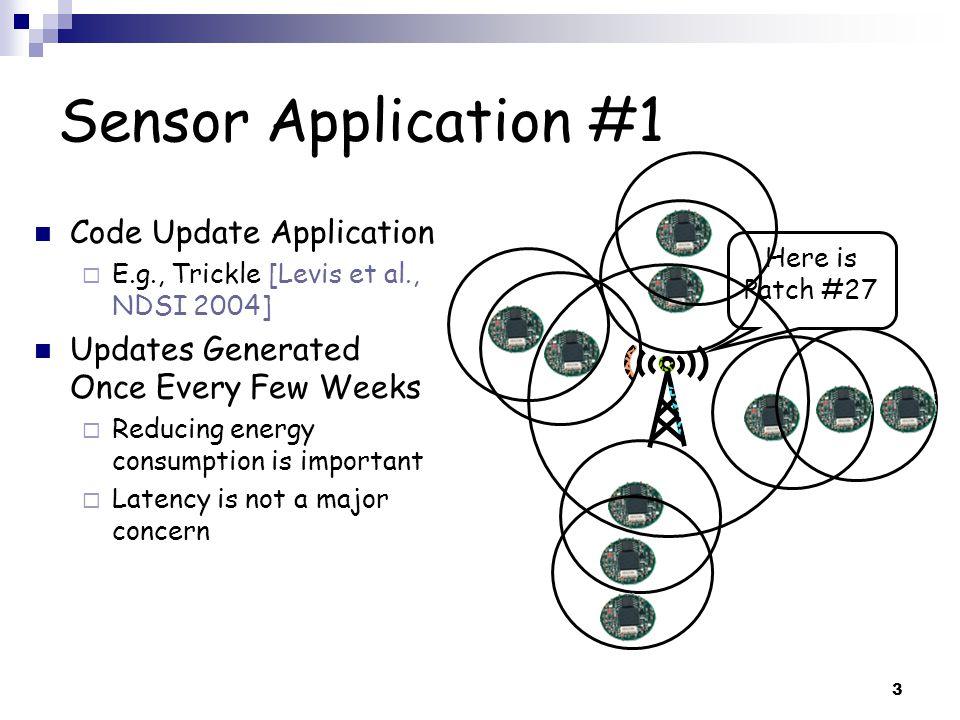 14 B-MAC [Polastre et al., SenSys 2004] N1 N2 N3 D = Transmission Preamble DD = Reception = Carrier Sensed Busy Uses Preamble Sampling