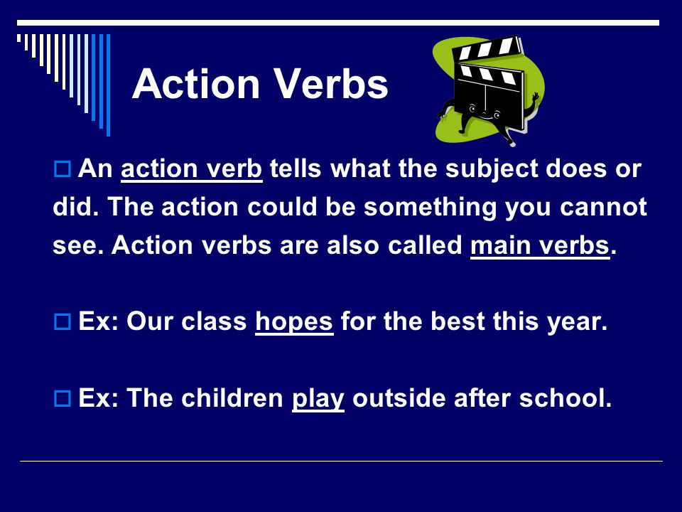 Linking Verbs  A linking verb connects the subject of a sentence to a noun or adjective.