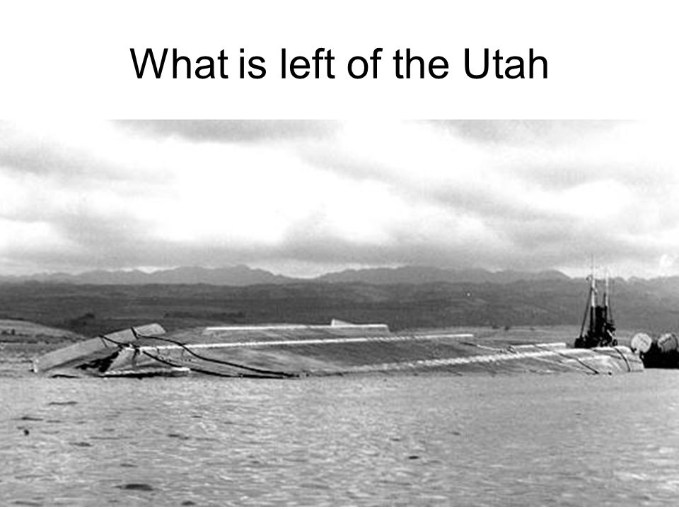 What is left of the Utah
