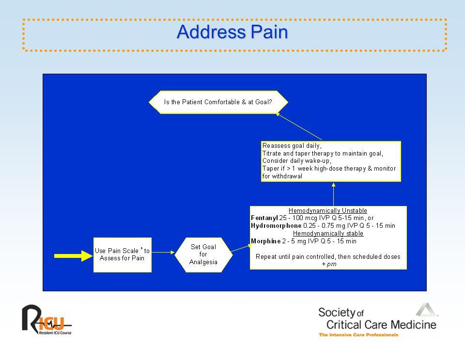 Address Pain