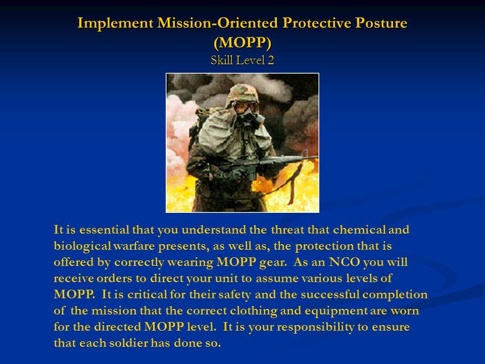 Task Number: 031-503-3008 Evaluation Preparation: Setup: Evaluate this task during a normal training session.