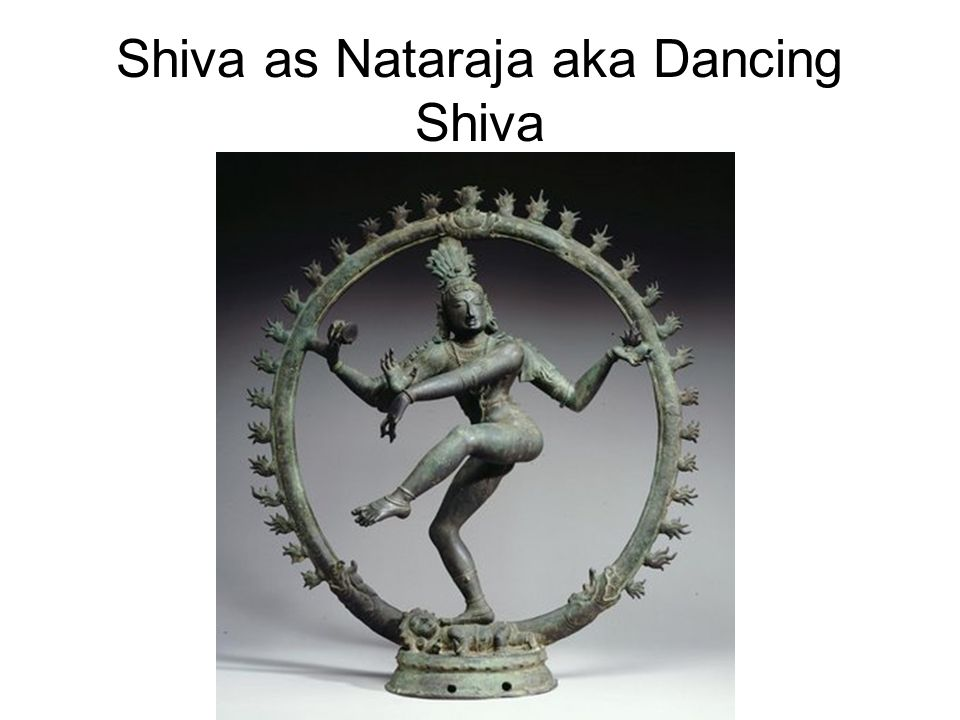 Shiva as Nataraja aka Dancing Shiva