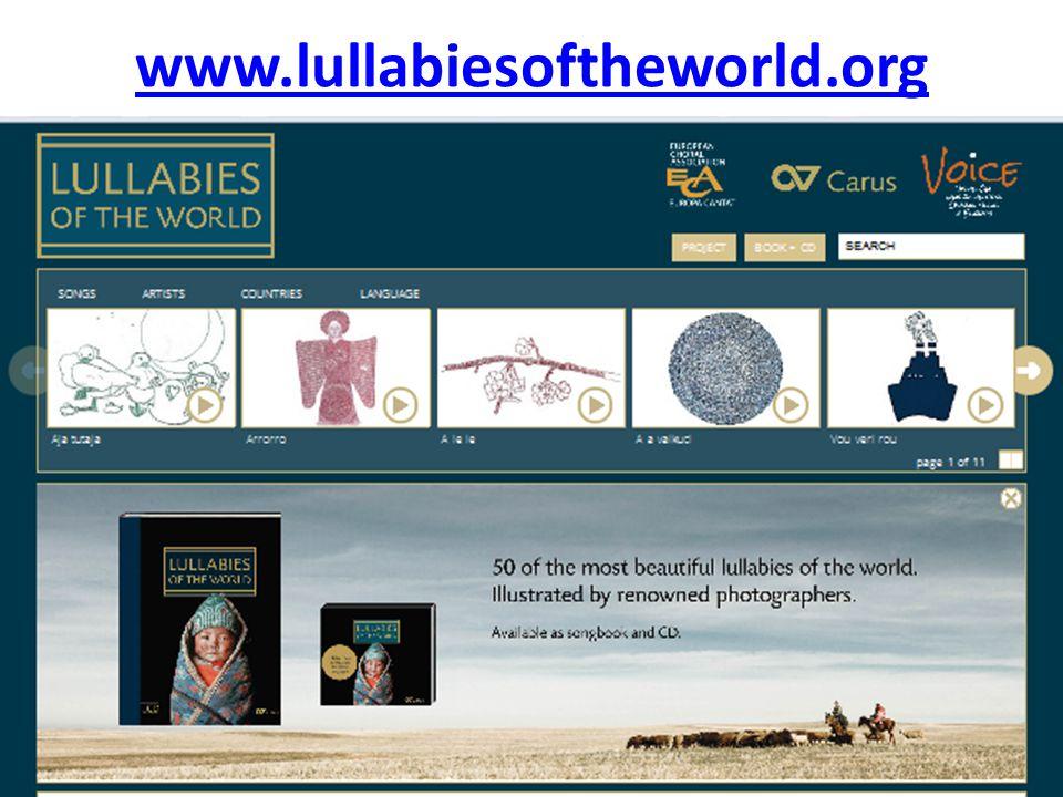 www.lullabiesoftheworld.org