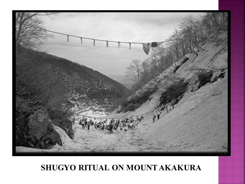 SHUGYO RITUAL ON MOUNT AKAKURA