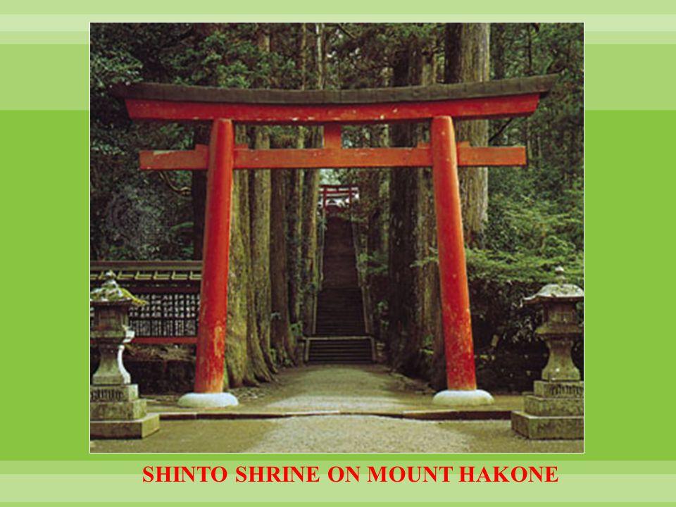 SHINTO SHRINE ON MOUNT HAKONE