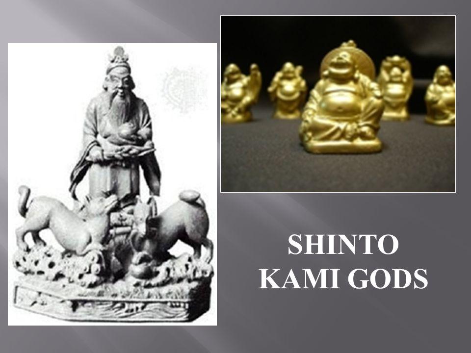 SHINTO KAMI GODS