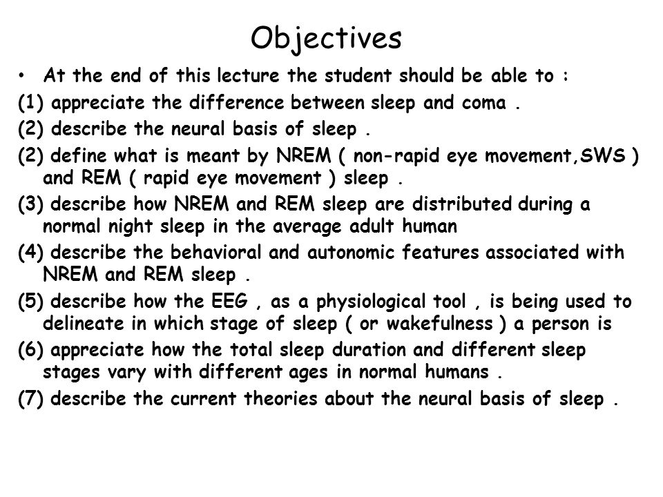 Q : If dreams do occur during SWS : how do they differ from those of REM sleep .
