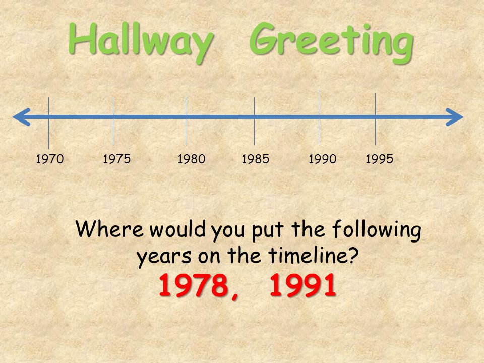 Hallway Greeting difference Find the difference between the following numbers: 1779 1830 (What do you do to find the difference?)