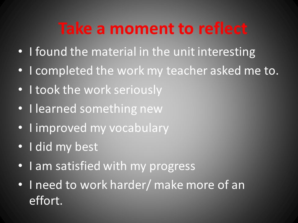 Formative Feedback This type of feedback should be done during a lesson, a unit or a semester to find out what is going on and be able to make a chang