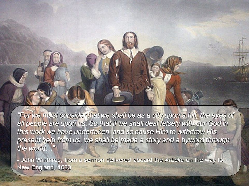 The Puritan Legacy The writings of the Puritans of New England have been central to the development of the American literary traditions.