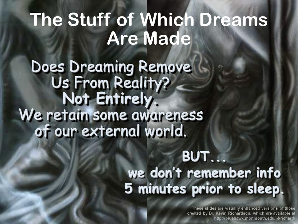 Most dreams are of ordinary things. BUT Lucid Dreams are so vivid they SEEM REAL.
