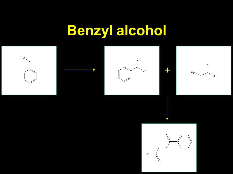 Benzyl alcohol +