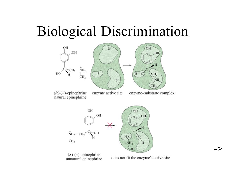 Biological Discrimination =>