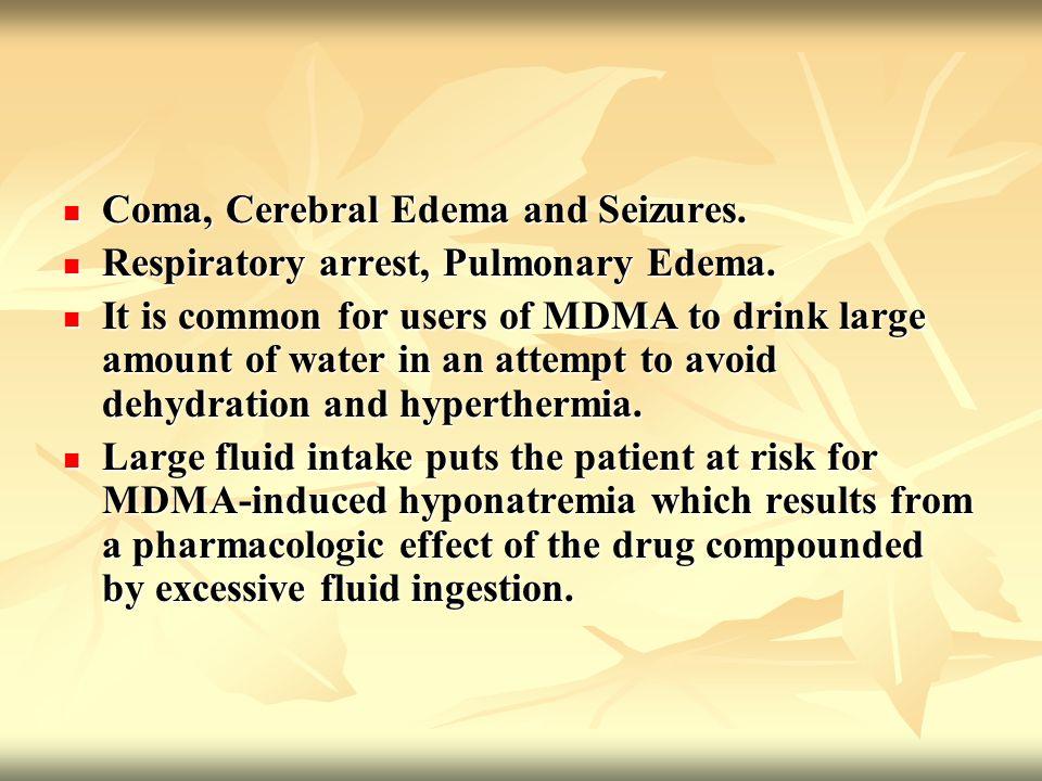 Coma, Cerebral Edema and Seizures. Coma, Cerebral Edema and Seizures.