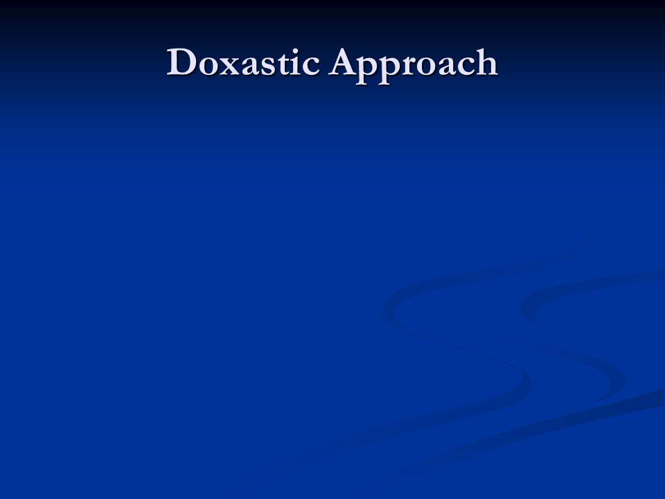 Doxastic Approach