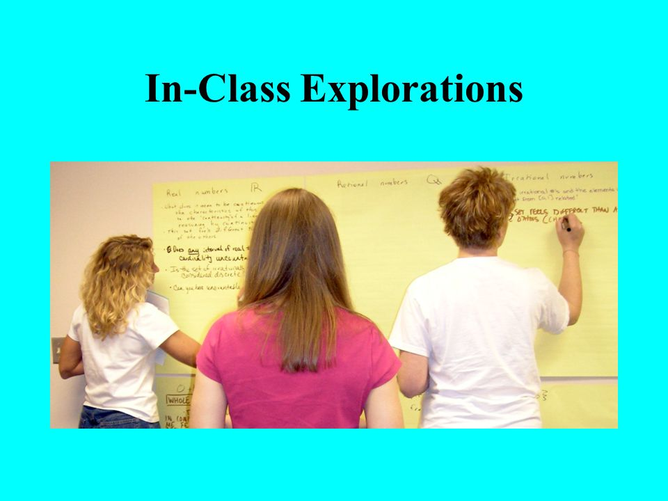 In-Class Explorations