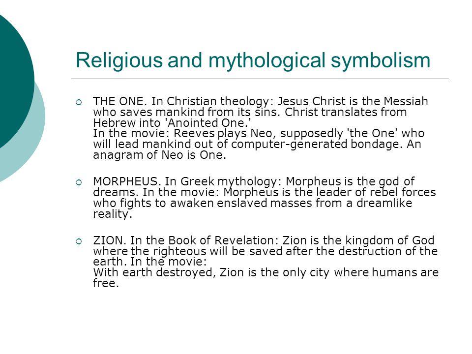 Religious and mythological symbolism  THE ONE.