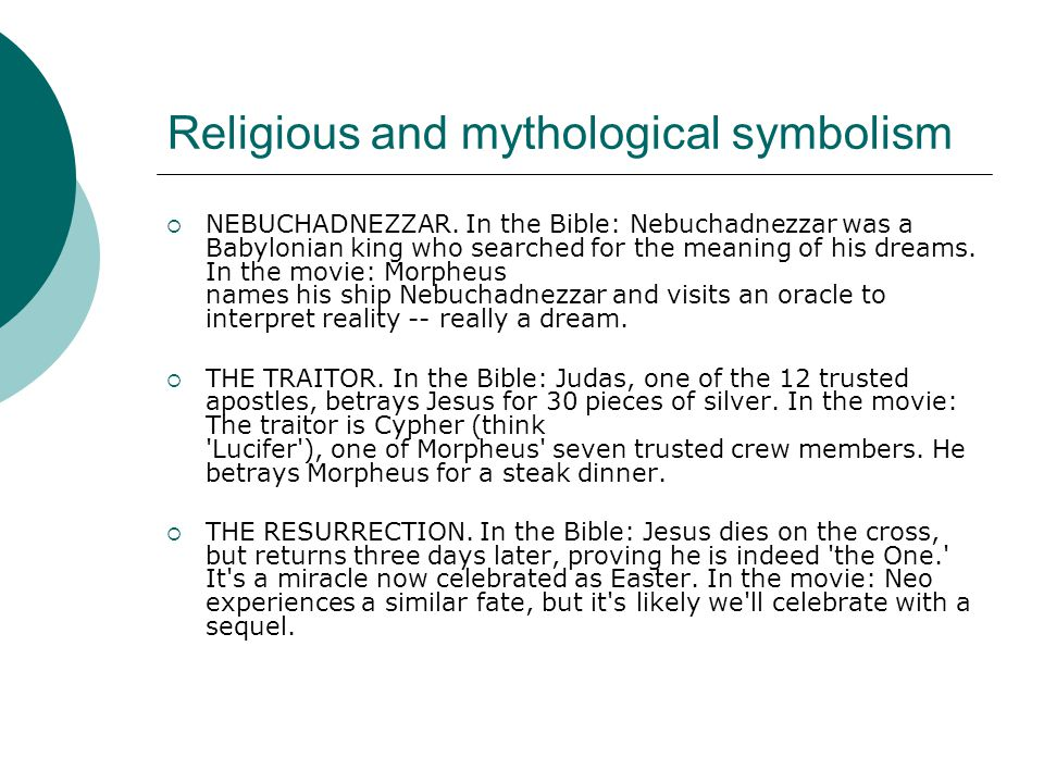 Religious and mythological symbolism  Bhuddism.