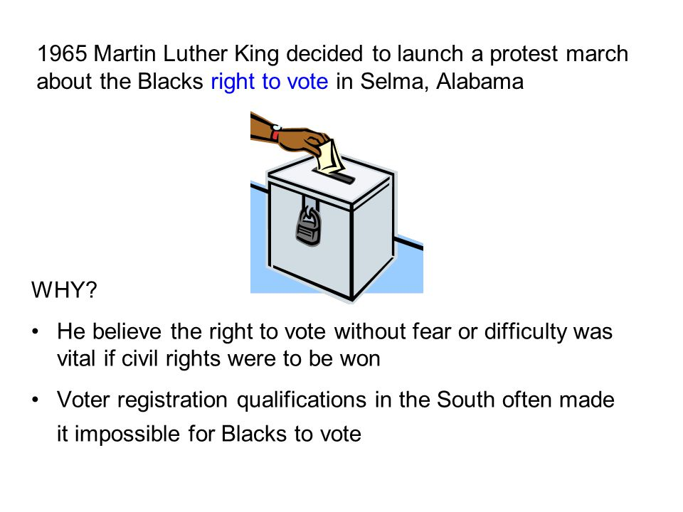 Why was voting so important.