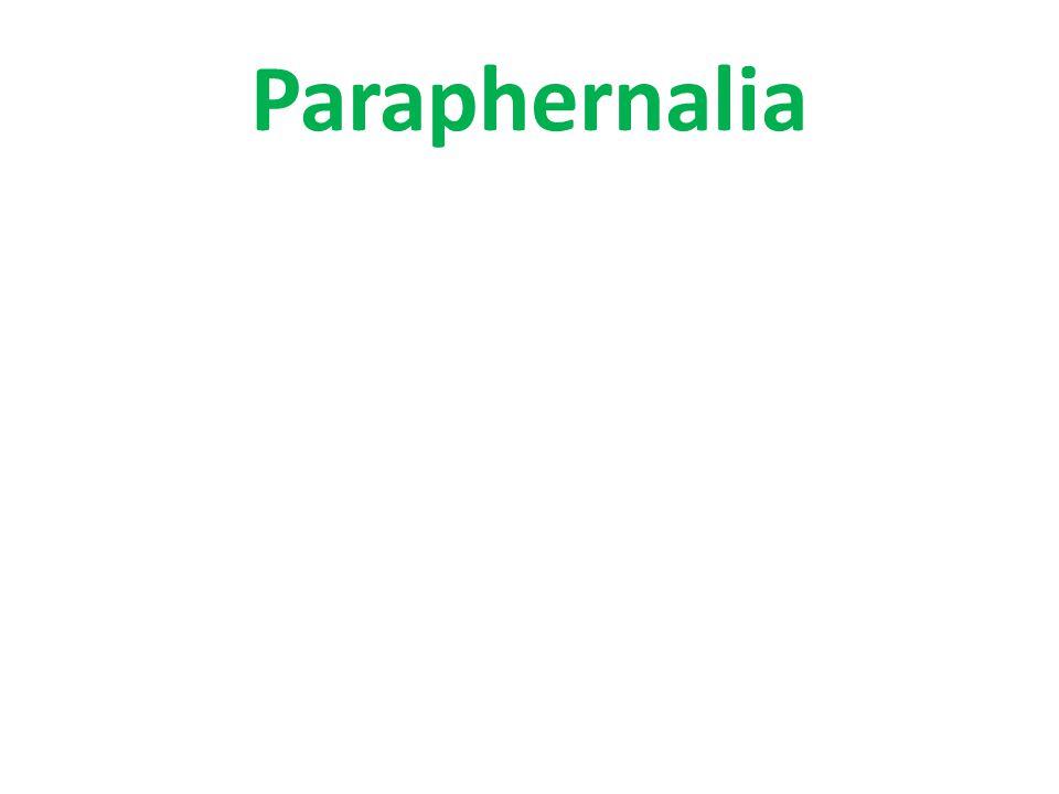 Paraphernalia
