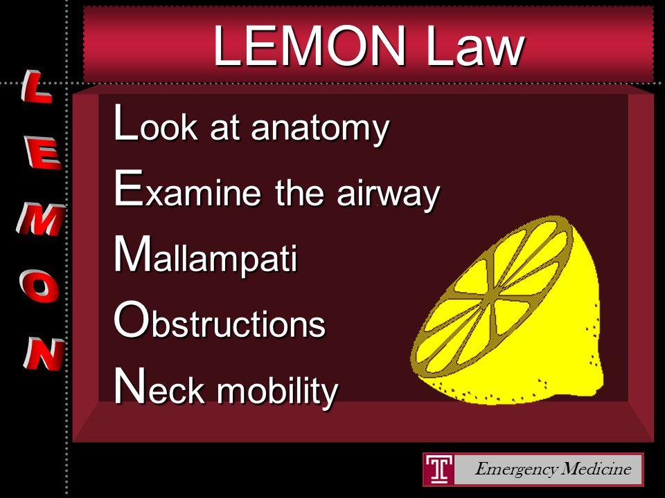 Emergency Medicine Airway Obstructions Angioedema.