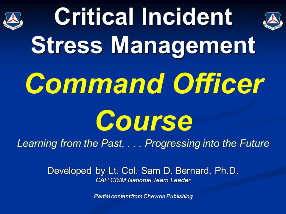 Critical Incident An event that has the power to overwhelm the coping abilities of an individual or group.