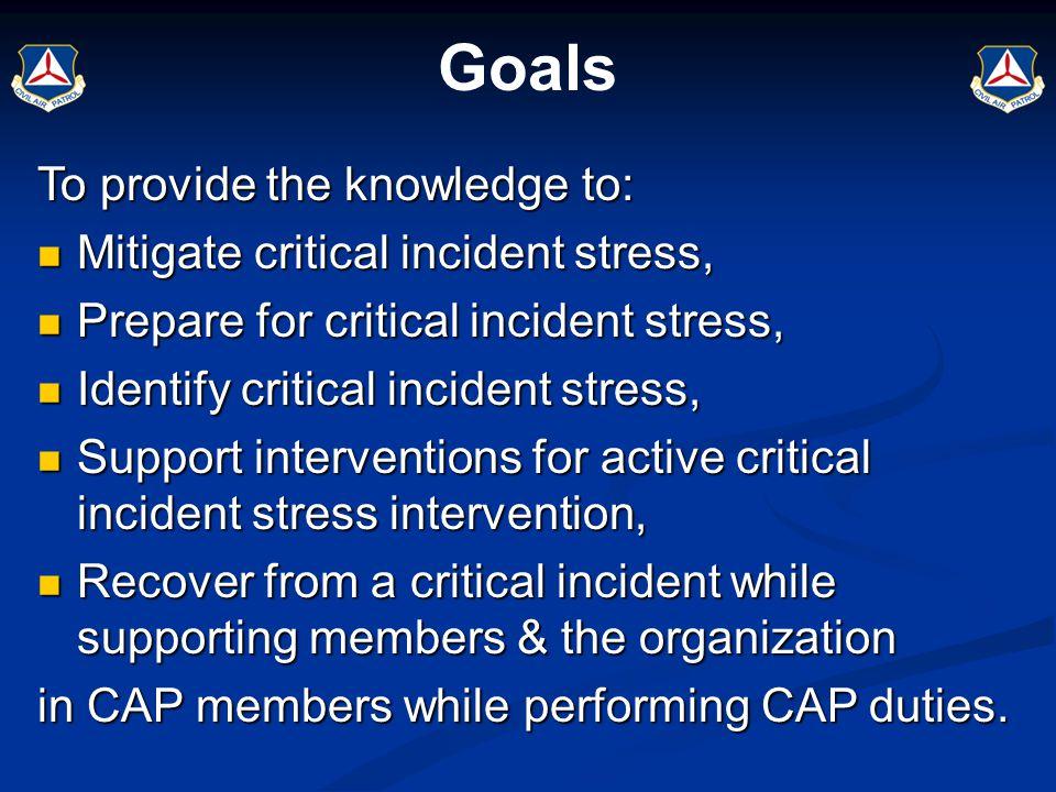 Agenda Jeffrey T.Mitchell, Ph.D., CTS & George S.