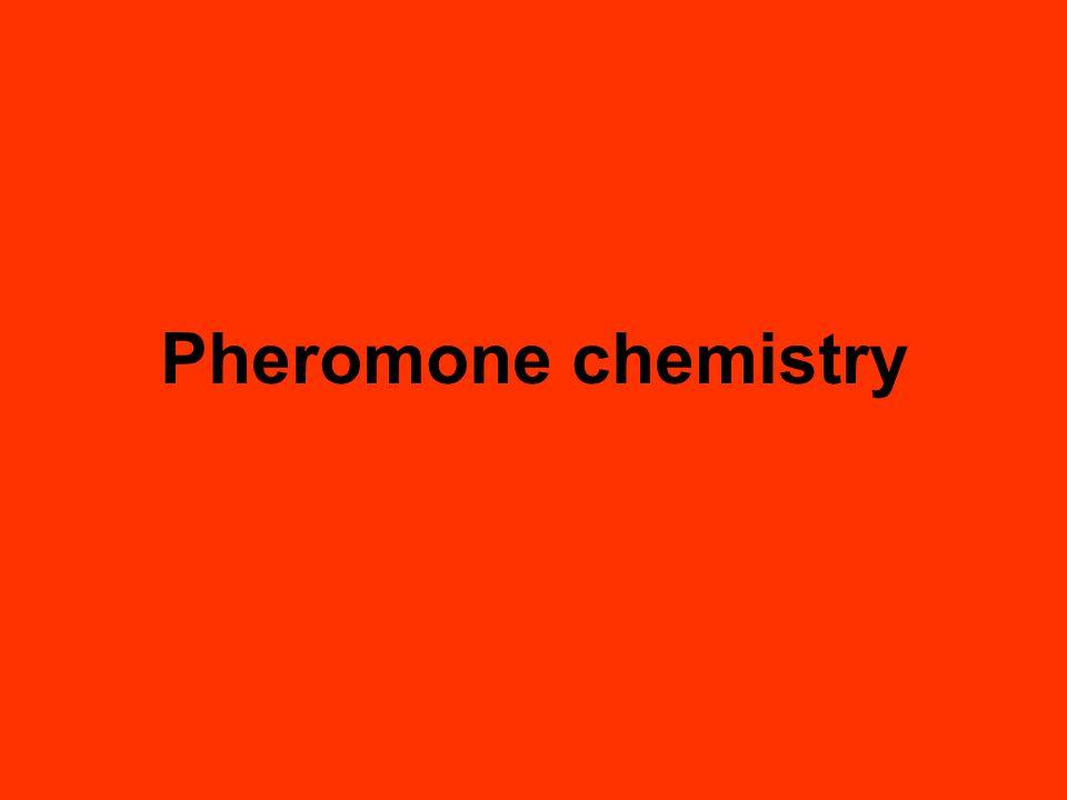 Pheromone chemistry
