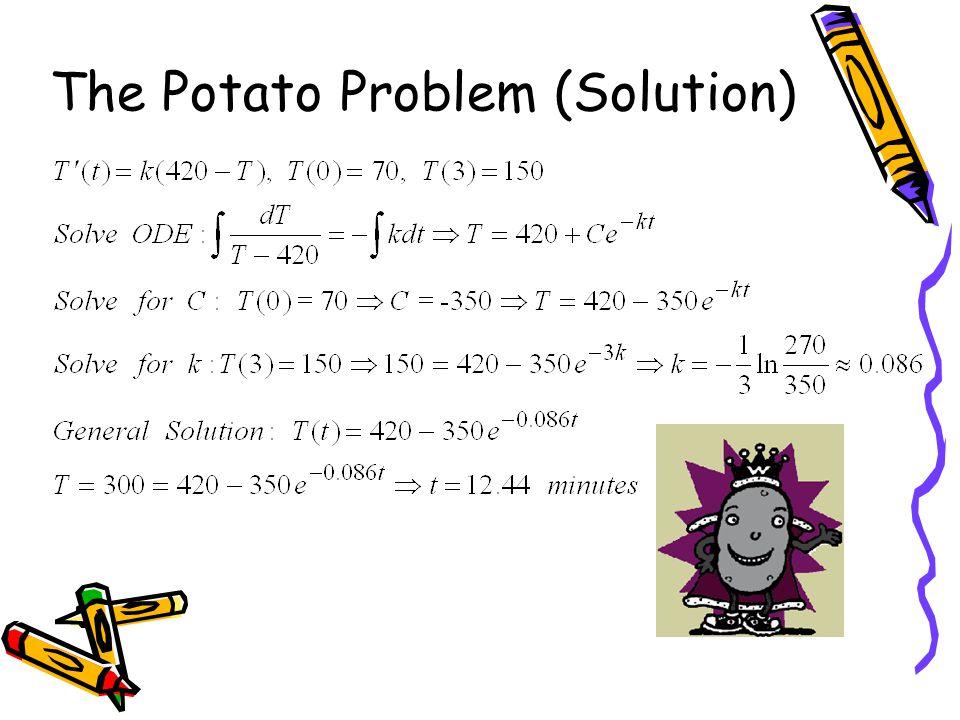 The Potato Problem (Solution)