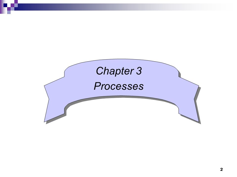 2 Chapter 3 Processes