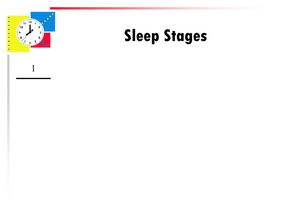 Sleep Stages 1