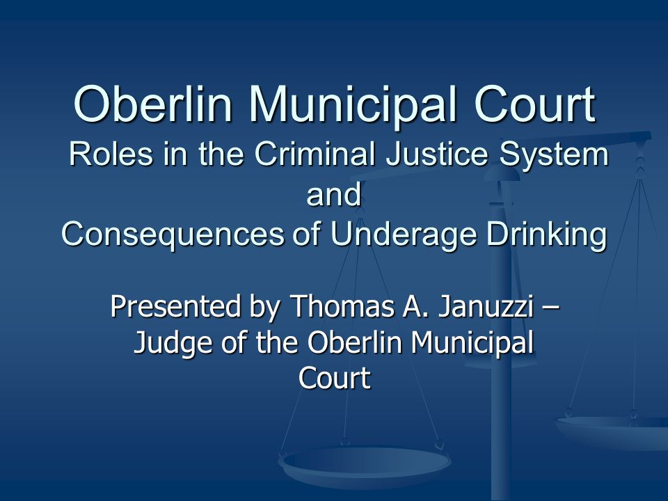 The degree of crime Underage Consumption is a 1 st Degree Misdemeanor Underage Consumption is a 1 st Degree Misdemeanor