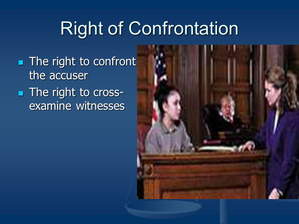 Right to Subpoena Witnesses Court can order a person to appear and testify