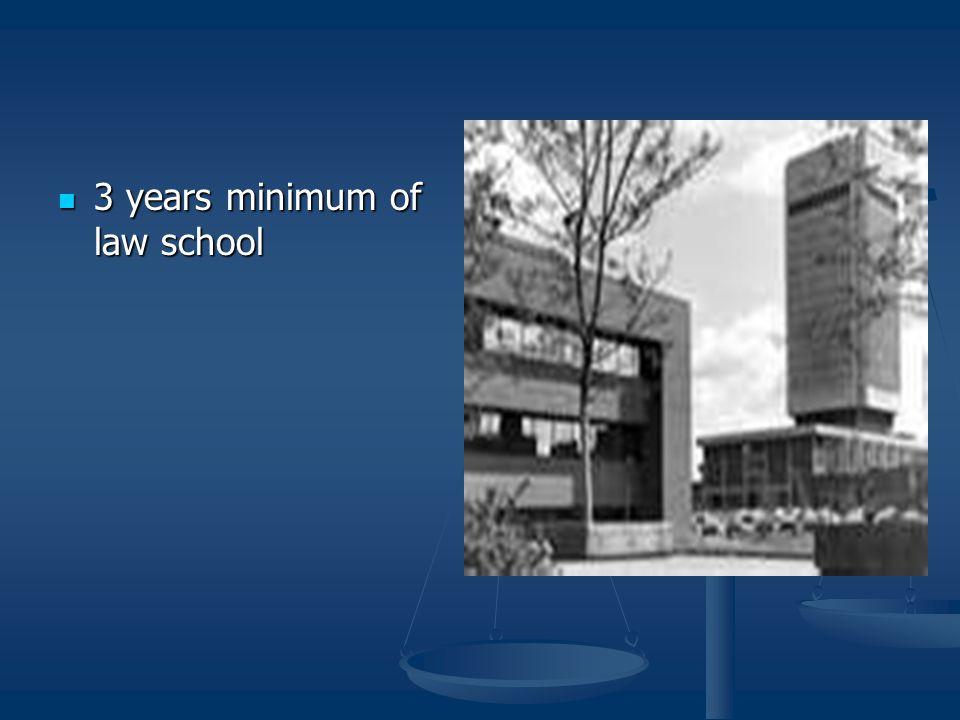 Education Requirements 4 year undergraduate degree 4 year undergraduate degree