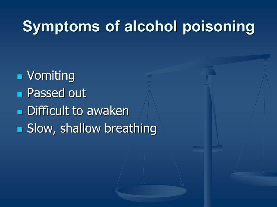 Highest Levels of Intoxication Occur After Drinking is Stopped It's important to know that your body oxidizes about one ounce (approximately one drink