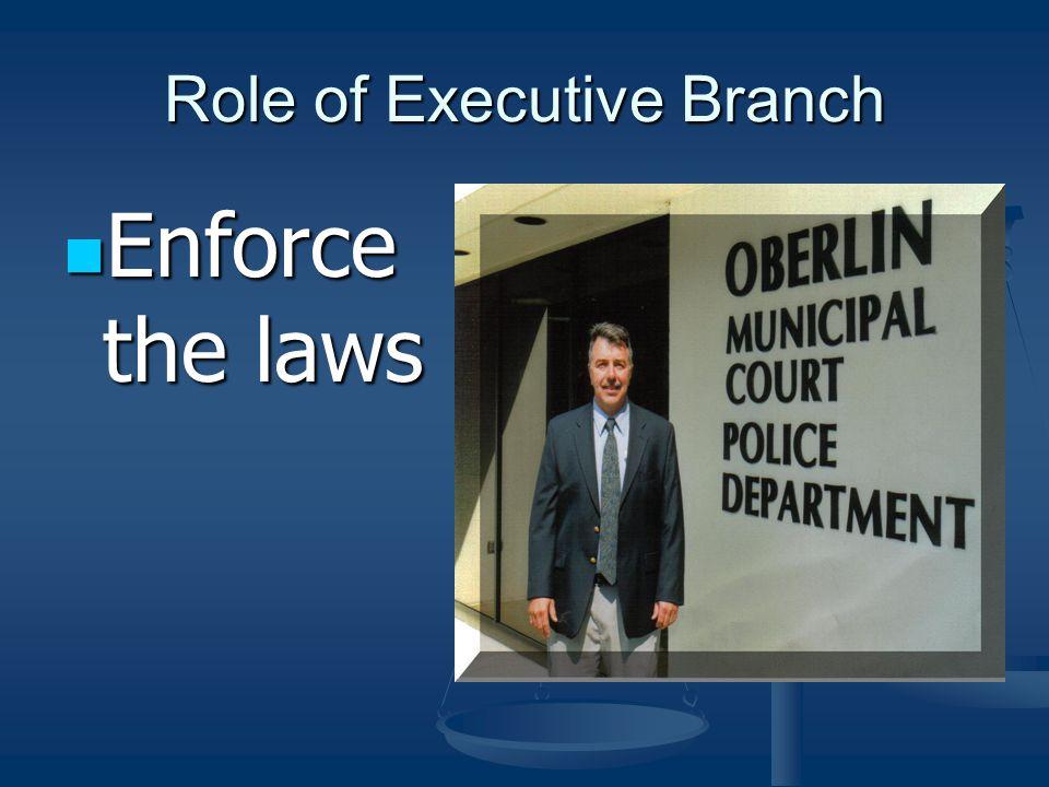 Legislative Branch State of Ohio State of Ohio Laws are passed by the State Legislature and signed by the Governor Laws are passed by the State Legisl