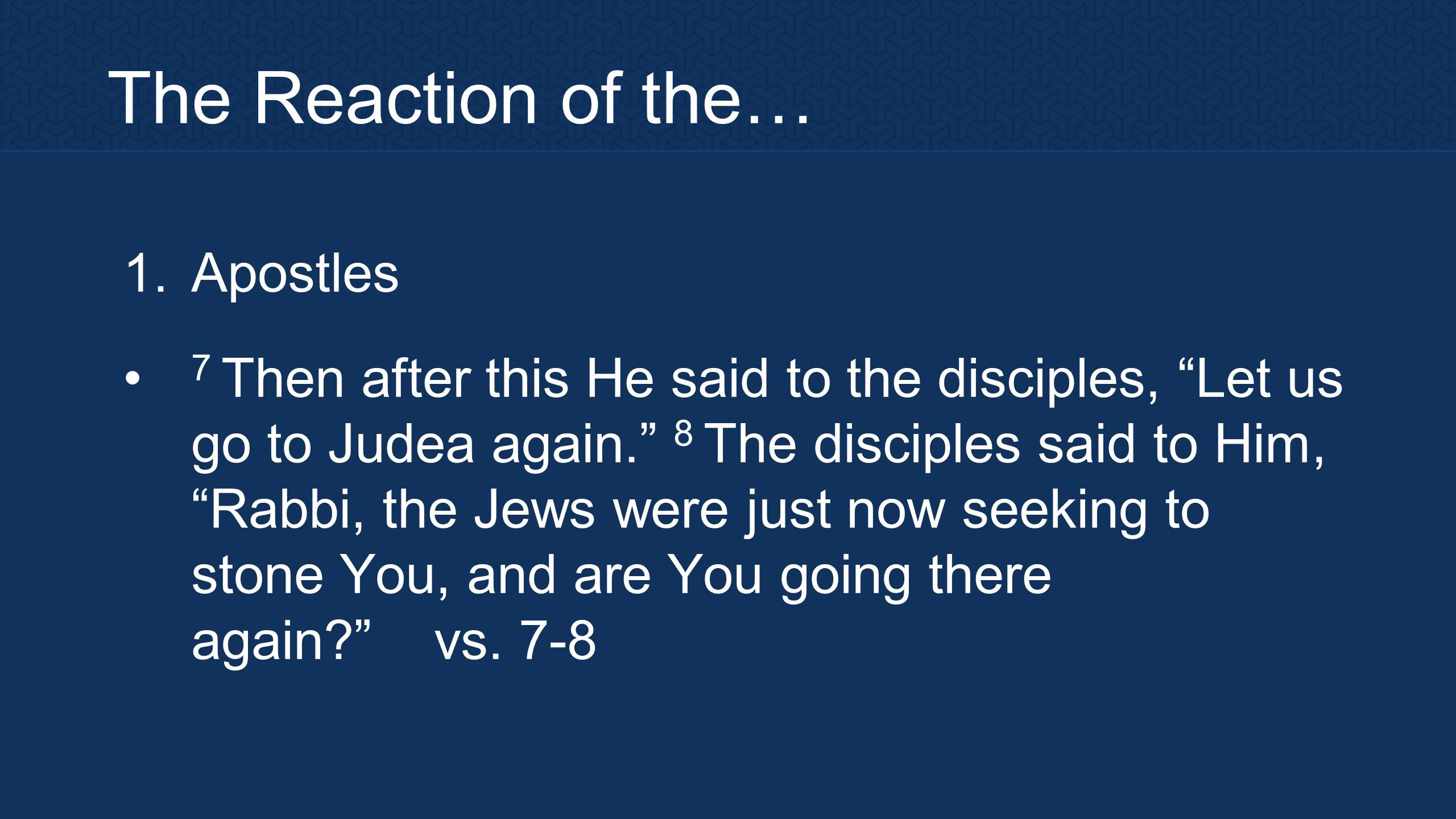 The Conspiracy 55 Now the Passover of the Jews was near, and many went up to Jerusalem out of the country before the Passover to purify themselves.