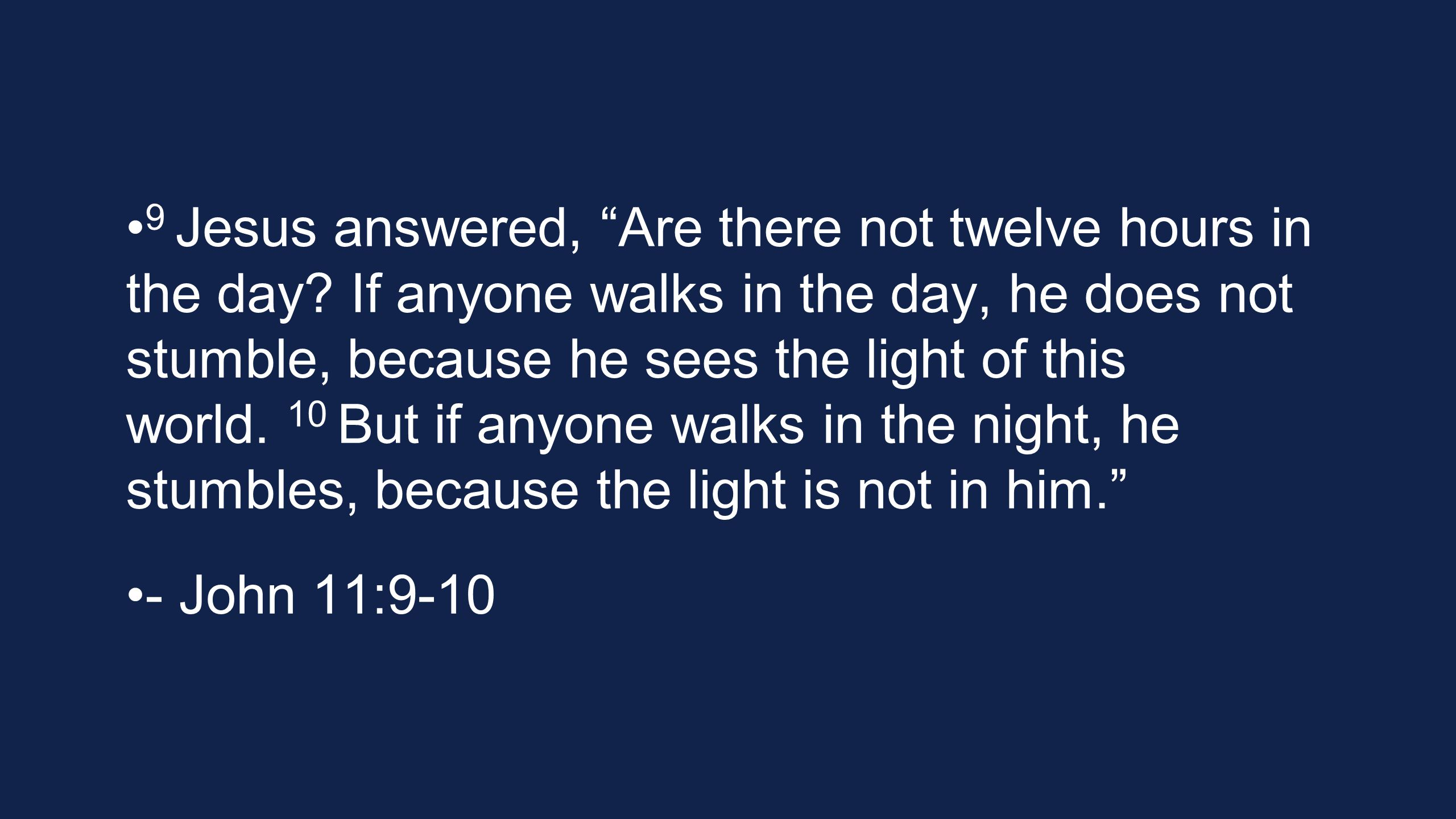 11 This He said, and after that He said to them, Our friend Lazarus has fallen asleep; but I go, so that I may awaken him out of sleep. 12 The disciples then said to Him, Lord, if he has fallen asleep, he will recover. - John 11:11-12