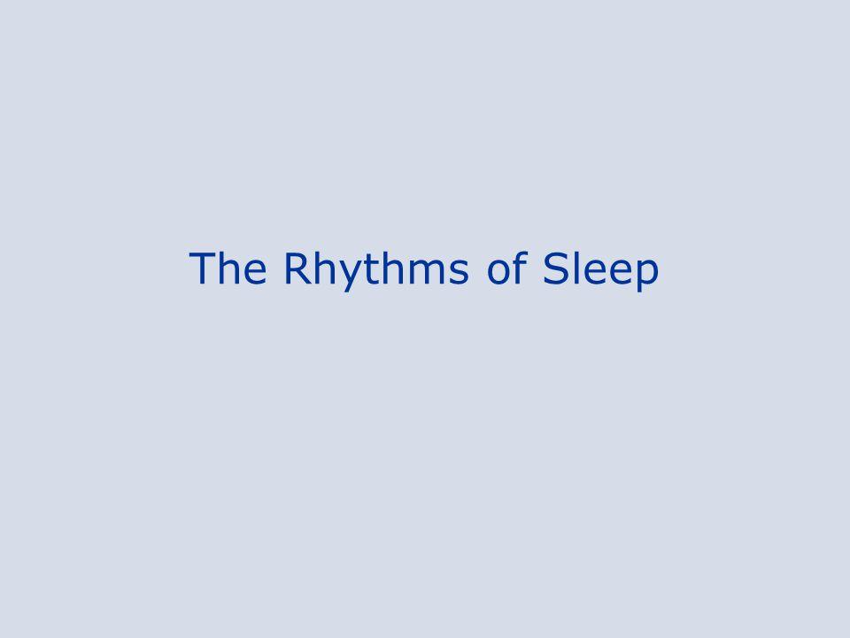 The Rhythms of Sleep